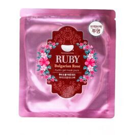 Koelf Ruby & Bulgarian Rose Hydrogel Mask Pack Гидрогелевая маска с экстрактом болгарской розы и рубиновой пудрой