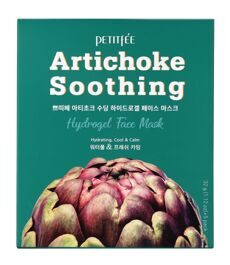 Petitfee Маска гидрогелевая с экстрактом артишока Artichoke Soothing Hydrogel Face Mask