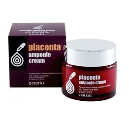 Крем для лица с плацентой Placenta Ampoule Cream 70мл
