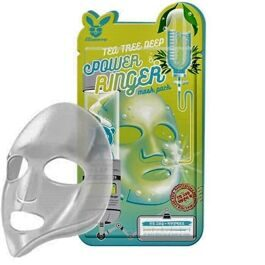 Тканевая маска для лица с экстрактом центеллы Elizavecca Deep Power Ringer Mask Pack 23мл