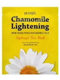Petitfee Chamomile Lightening Hydrogel Face Mask Гидрогелевая маска для лица с экстрактом ромашки