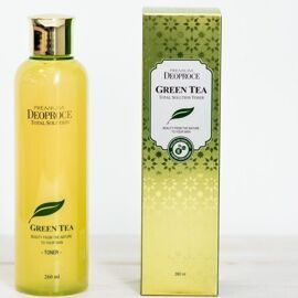 Deoproce Тонер для лица на основе зеленого чая PREMIUM GreenTea Total Solution Toner