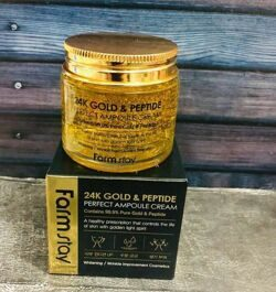 Крем для ухода за кожей farm stay FarmStay 24K Gold  Peptide Perfect Ampoule Cream