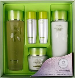 Набор для увлажнения лица 3W Clinic Aloe Full Water Activating Skin 3 Kit Set